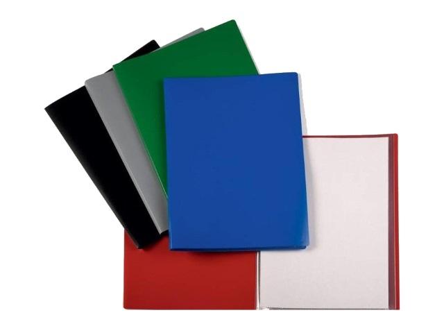 Папка с файлами  10ф А4 Бюрократ Economy 0.4мм цветная EC10