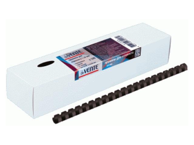 Пружины для брошюровки 12 мм черные 100 шт. DeVente 4125507