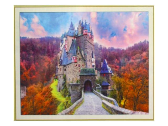 Алмазная мозаика 40*50см Дорога к замку Mazari M-10229