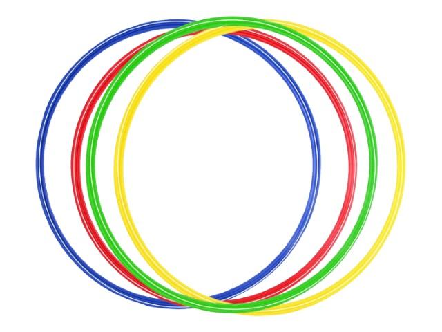 Обруч гимнастический d=60см C25930
