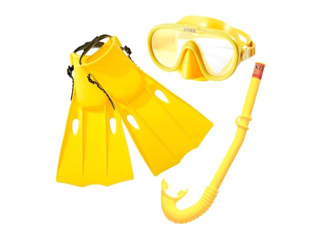 Набор для плавания 3 предмета Intex 55655