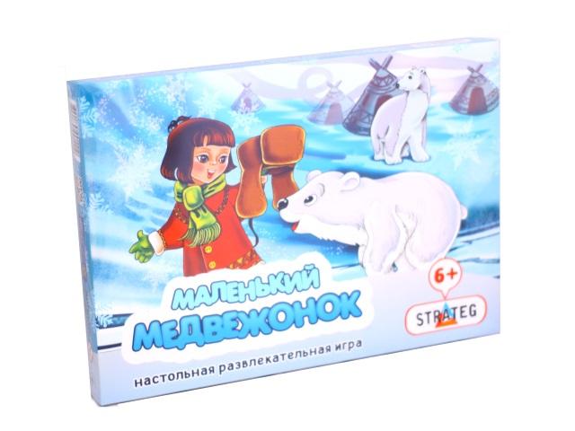 Настольная игра Маленький медвежонок 191