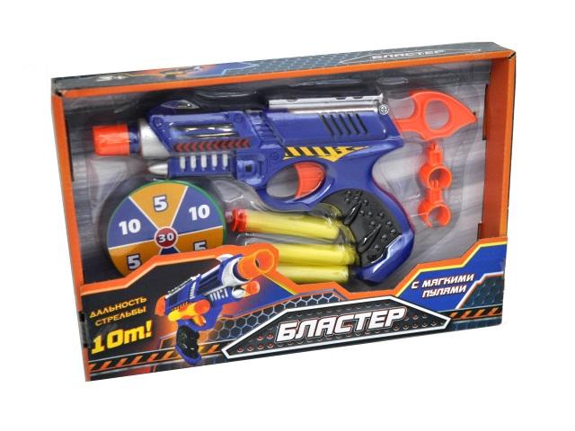 Бластер  3 пули 20см мишень Играем вместе B353790-R1