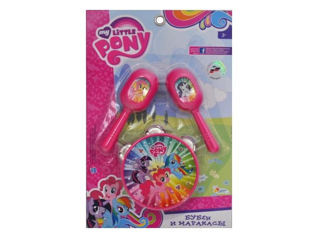 Бубен и маракасы My Little Pony Играем вместе B607108-R1