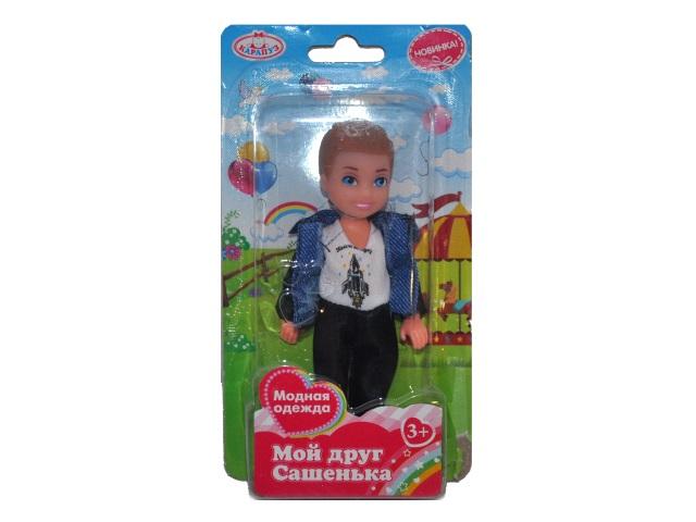 Кукла Сашенька 12см Карапуз SASHA01-BB