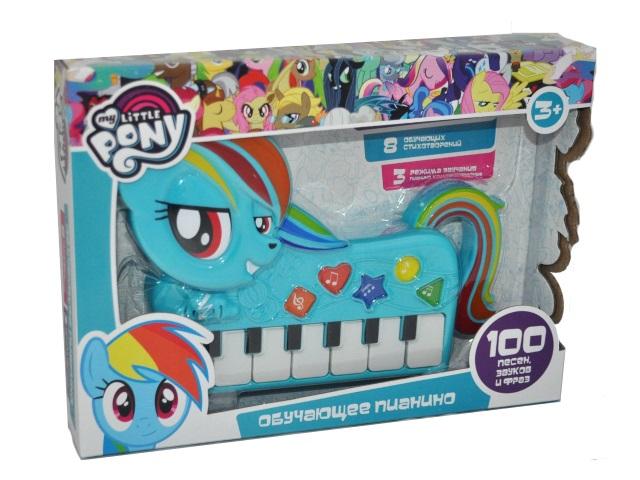 Пианино на батарейках My little Pony Умка HT787-R