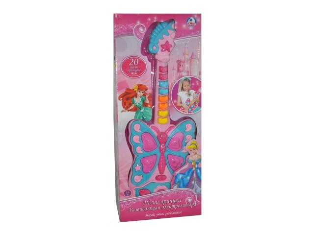 Гитара на батарейках Песни принцесс Умка 1312M144