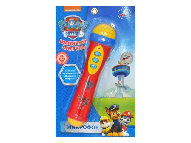 Микрофон на батарейках Щенячий патруль Умка B1082812-R15