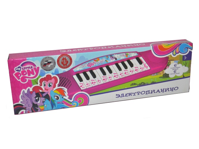 Пианино на батарейках My little Pony Умка B1371790-R2