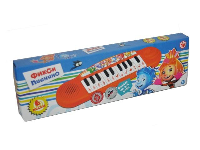 Пианино на батарейках Фиксики Умка B1371790-R5