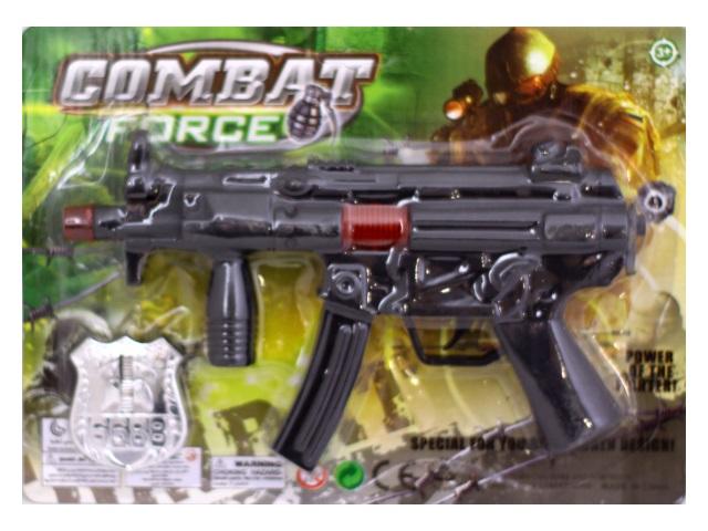 Автомат трещетка 25см Combat 1688-14