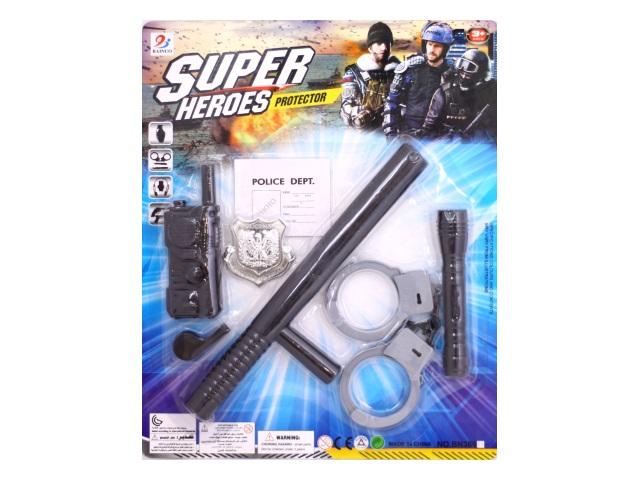 Полицейский набор  5 предметов Super Heroes BN369P29
