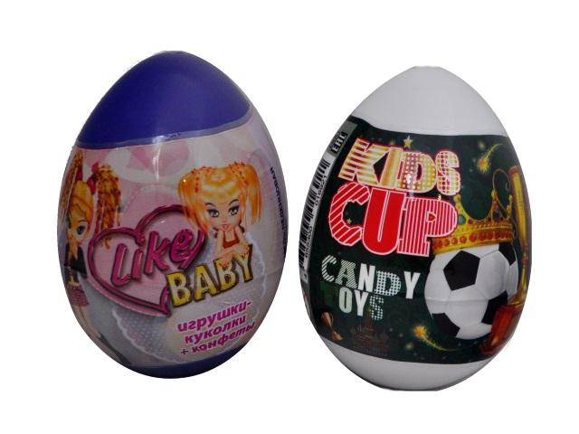 Яйцо-сюрприз Like Baby игрушка и сладости