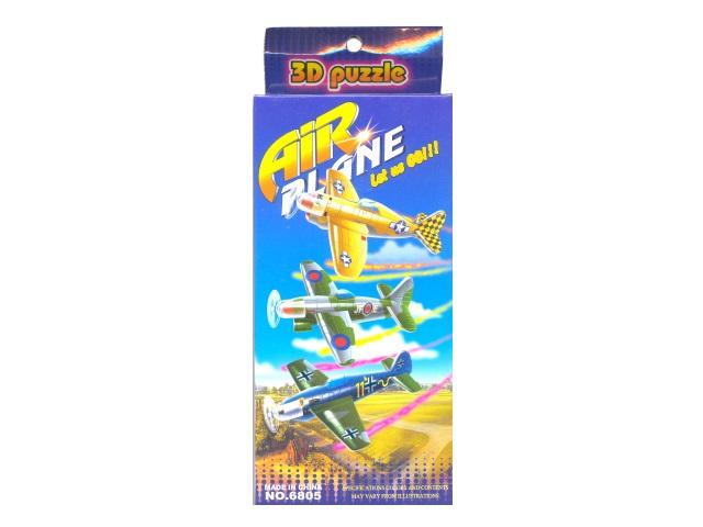 Сборная модель картон Самолет 6805
