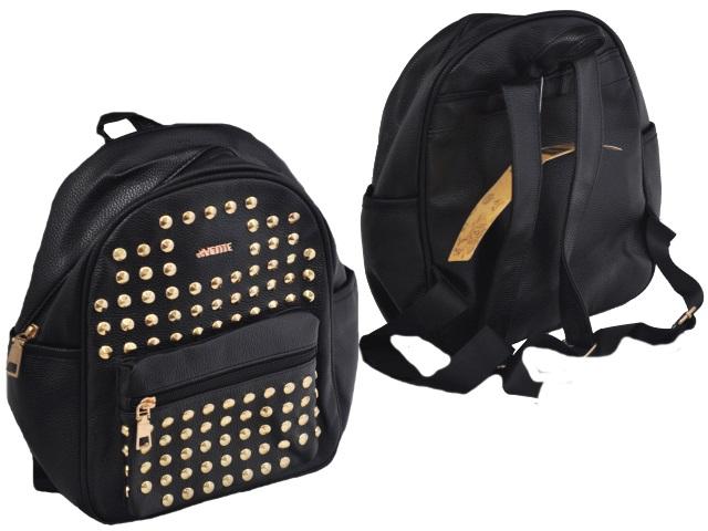 Рюкзак 29*24*16см кожзам черный DeVente 7032865