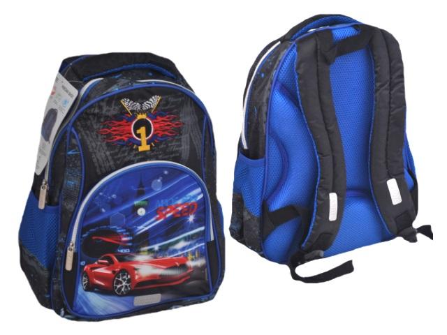 Ранец школьный Basic Made for Speed 35*26*20см DeVente 7033906