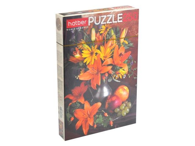 Пазлы  250 деталей Букет цветов Hatber 250ПЗ3_09919
