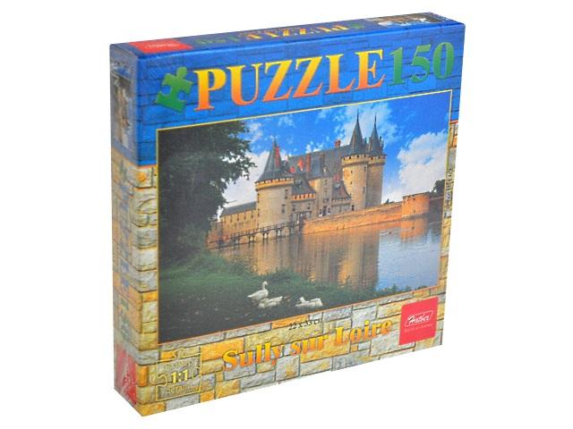 Пазлы  150 деталей Замок с озером Hatber 150ПЗ4_08977