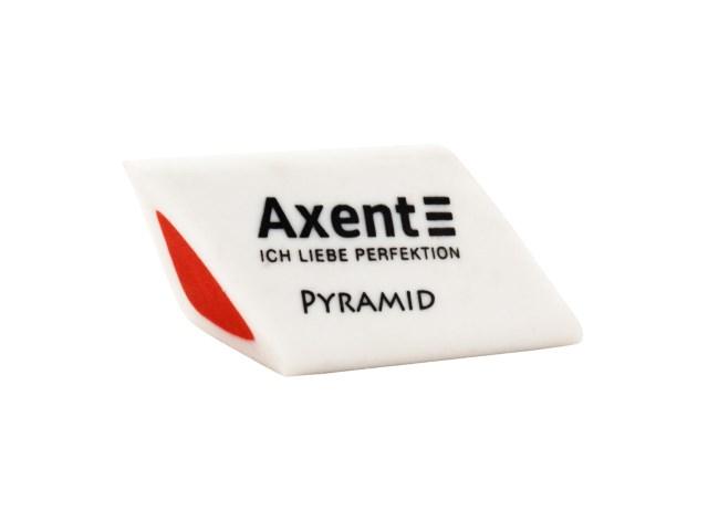Ластик Axent Pyramid треугольный 32*20*20мм 1187-A
