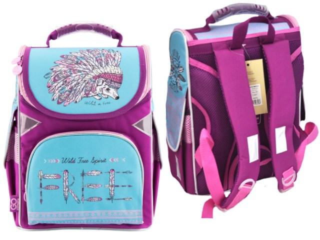 Ранец школьный Willd Free Spirit 34*26*13см розовый Kite GO18-5001S-2