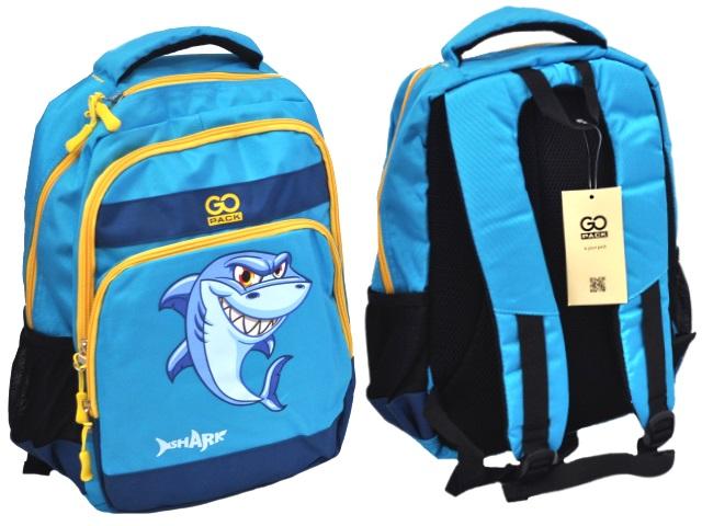Рюкзак Shark 38*28*18см синий Kite GO18-113M-2