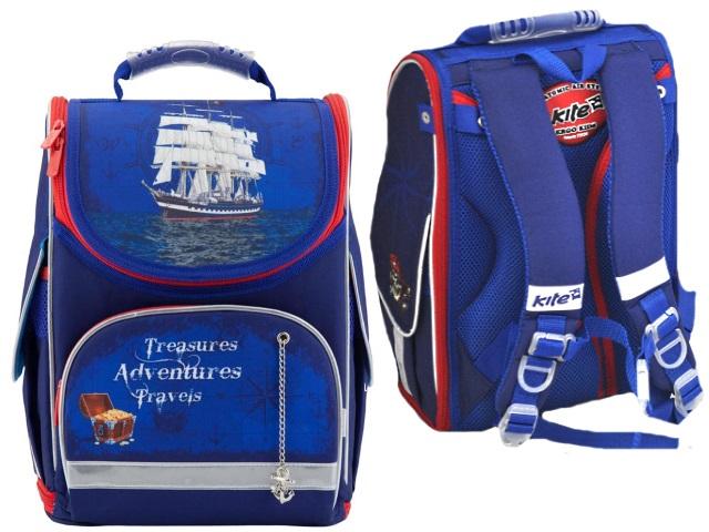 Ранец школьный Kite Sea adventurе 34*2*13см K18-500S-2