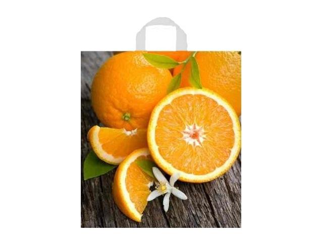 Пакет с ручками 40*44см Свежий апельсин Miland н00137608