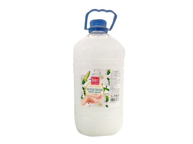 Мыло жидкое 5л DiArt Белая лилия