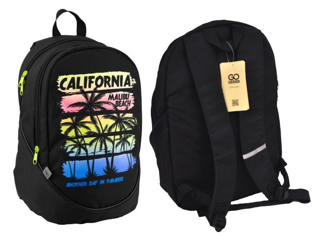 Рюкзак GoPack 43*28*22см California черный Kite GO19-120L-2