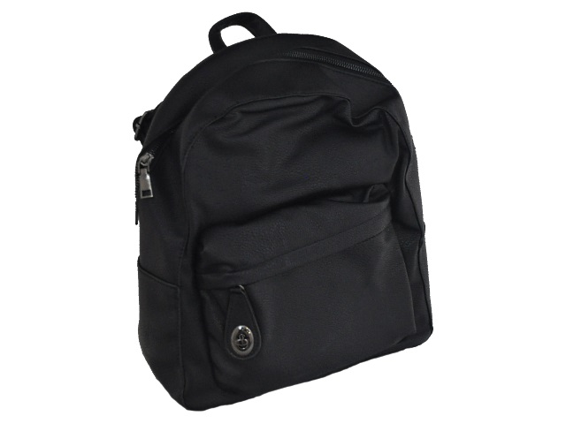 Рюкзак кожзам Dolce-1 34*28*11см черный Kite K18-2538-1