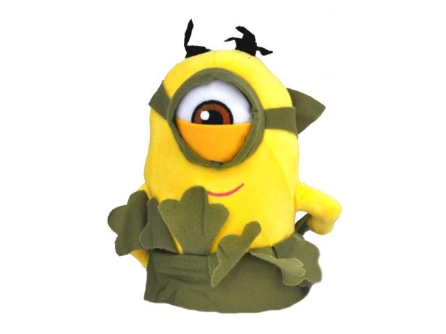 Мягкая игрушка Миньон на присоске цветной 22см