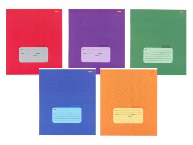 Тетрадь 12л линия Цветной узор Remix 12-0546