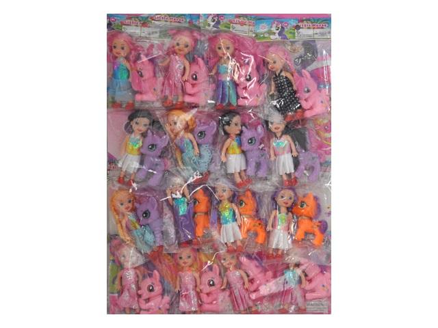 Кукла Little Horse 10см с пони 9012