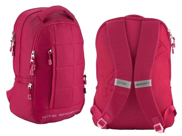 Рюкзак Sport 48*35*14см малиновый Кite K18-834L-1