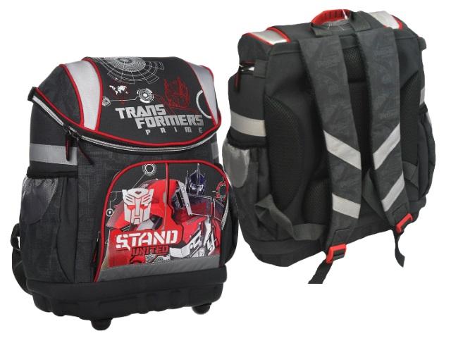 Ранец школьный Transformers 36*30*18см серый TRAB-UT1-135