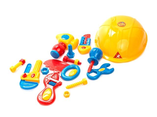 Инструменты 17 предметов с каской Самоделкин Играем вместе B607596-R