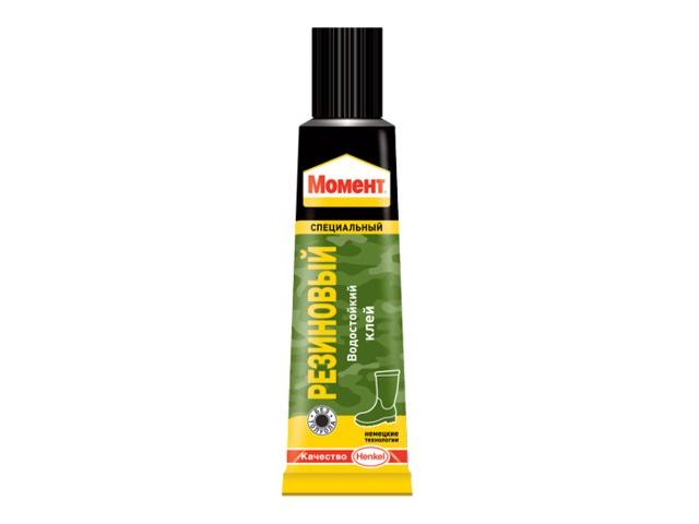 Клей супер  30г Момент резиновый Henkel