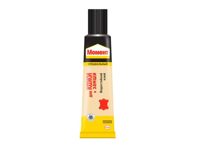 Клей супер  30г Момент для кожи и замши Henkel