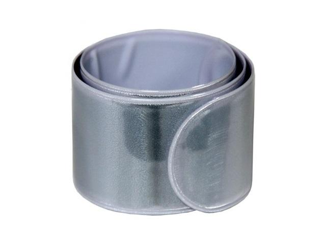 Светоотражатель-браслет Слэп белый TZ 15231