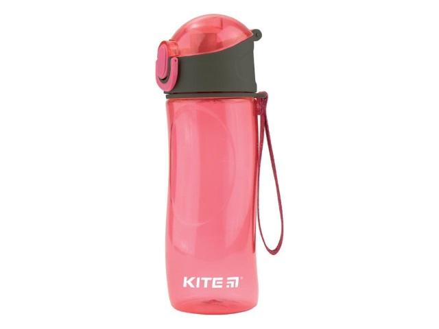Бутылочка для воды Kite 530мл розовая K18-400-02