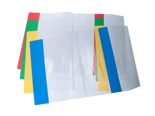 Обложка для учебника 150 мкм 22.6 см с цветными краями У226