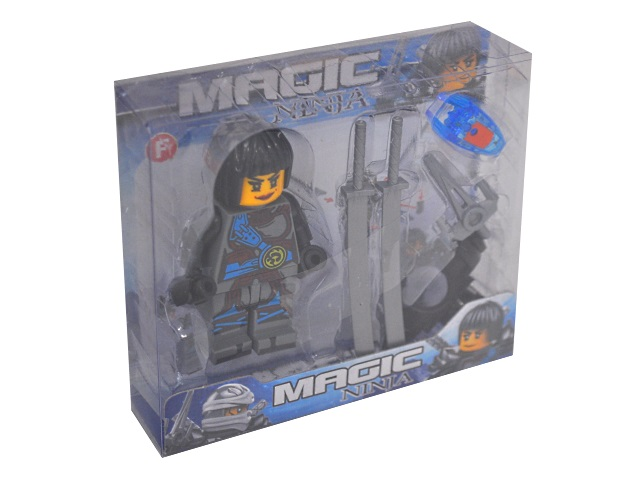 Фигурка Magic Ninja 8см с аксессуарами 2017-32