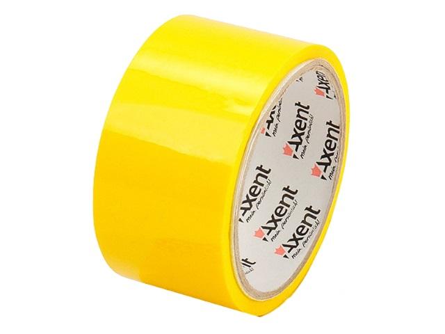 Скотч 48* 35м Axent 45мкм желтый 3044-08-A