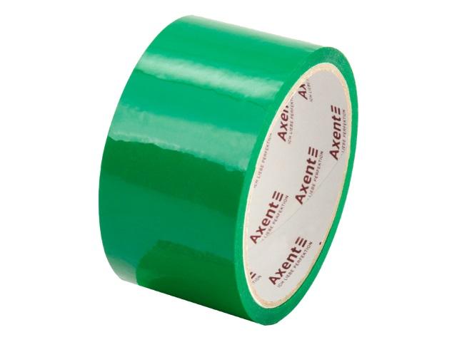 Скотч 48* 35м Axent 45мкм зеленый 3044-04-A