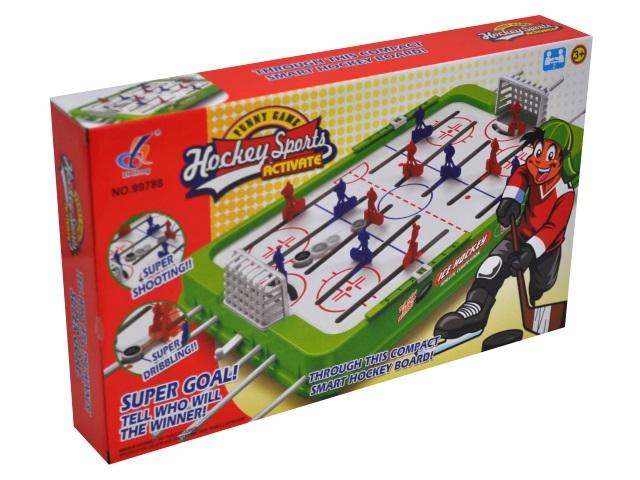 Настольная игра Хоккей малый Шайба Рыжий кот 101007605