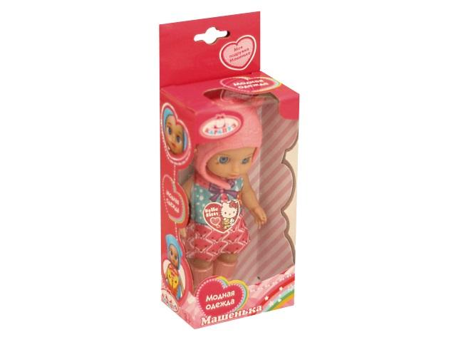 Кукла Машенька 12см Модная одежда Карапуз YL1701B-RU