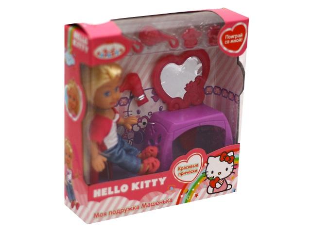 Кукла Машенька 12см Красивые прически Карапуз MARY009X-HK