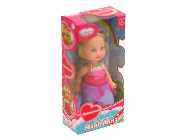 Кукла Машенька 12см Принцесса Карапуз MARY1016-19-BB