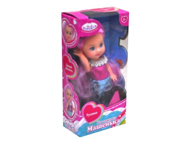 Кукла Машенька 12см Русалка Карапуз MARY1116-19-BB