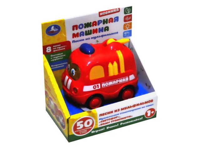 Пожарная машинка музыкальная Умка 1505A441-R